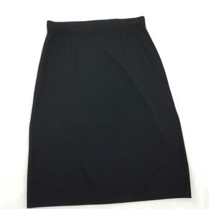 Exclusively Misook Skirt S Black Knit Work Career